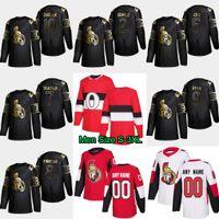 Wholesale bobby ryan jersey resale online - 10 Anthony Duclair Gold Black Ottawa Senators Bobby Ryan Frank Finnigan Brady Tkachuk Cody Ceci Dylan DeMelo Chris Tierney Jersey