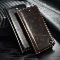 estuches billetera xperia z al por mayor-venta al por mayor Funda para Sony Xperia Z5 Funda Z 5 Funda de cuero de lujo de la PU de la vendimia para Sony Xperia Z5 E6683 Dual Card Cover Wallet Etui Capa