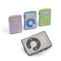 media player usb mp4 venda por atacado-Nova Chegada Clip Mini USB MP3 Music Media Player Micro SD Cartão TF de até 16 GB Bluetooth MP3 MP4 para carro