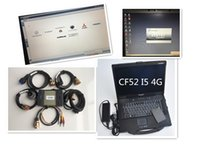 Wholesale new mb star c3 for sale - Group buy Military laptop cf52 MB STAR C3 ssd with MB C3 Soft ware All New Relay Cable DHL Free