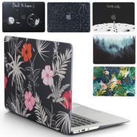 apple воздушный книжный шкаф оптовых-Новый ноутбук чехол для Apple MacBook Air Pro Retina 11 12 13 15 для Mac Book Pro 13,3 15,4 дюйма с сенсорным Бар + Keyboard Cover SH190924