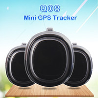 Wholesale battery for alarm resale online - Smart GPS Tracker Q08 for Elderly Kids Add Remote Monitoring Geo fence Multi Platform Query Low Battery Alarm Audible Recording