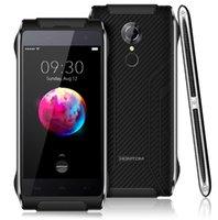 gps telefon 4.7 toptan satış-100% Yeni Orijinal HOMTOM HT20 Pro Tri Geçirmez IP68 4G Smartphone MTK6753 Octa Çekirdek Telefon 4.7