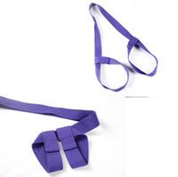 ingrosso cintura di corda di yoga-Yoga mat straps all'ingrosso bundled back rope stretch belt yoga bag yoga mat tie corda corda di stoccaggio