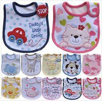 Wholesale peach baby clothes for sale - Group buy New pattern layer Newborn Dokis Baby Bibs Waterproof Bib Bandana Bibs For Babies Bebes Girls Boys Bib Babies Clothing