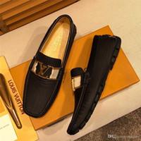 Wholesale crocodile loafers men resale online - A8 Genuine Leather Mens Shoes Casual Crocodiles Loafers Men Luxury Brands Drivings Dress Shoes Slipon Moccasins For Men Skor