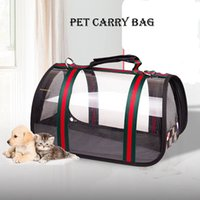 Wholesale backpack dog carriers for sale - Group buy Dogs Cats Backpack Pet Carrier Bag Dog Bags For Small Eco friendly Waterproof Windproof Transparent Dog Travel Bag