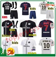 d1bddf17c2542f Camisetas de fútbol PSG AIR JORDAN 3RD 2018 camiseta de fútbol psg jordan  Hombres y niños 2019 Paris Saint Germain camisetas campeones NEYMAR JR  MBAPPE ...