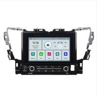Wholesale touch screen gps for toyota resale online - COIKA Android System Quad Core Car DVD Auto Player For Toyota Alphard With G RAM OBD DVR Touch Stereo K Video SWC WIFI