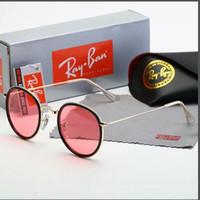 mens aynalı polarize güneş gözlüğü toptan satış-Erkekler Için tasarımcı Güneş Gözlüğü Metal Çerçeve Polarize Erkek Güneş Gözlüğü Trendy Timsahlar Moda Sürüş Güneş Gözlükleri Ayna UV400