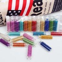 geles de uñas de colores al por mayor-12 colores 3D Caviar MiNi Beads Nails Art Glitters DIY Decoraciones Manicure Rhinestones UV Gel Accesorios Herramientas ZP143