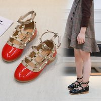 sapatos de vestido quente venda por atacado-venda Hot Girls Dress Shoes Crianças de couro Calçado infantil Moda Casual Shoes Dress crianças Menina Sapatos