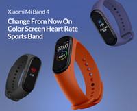 xiaomi bildschirm großhandel-Neue original xiaomi mi band 4 smart farbdisplay armband herzfrequenz fitness 135 mah bluetooth 50 mt schwimmen mi wasserdicht