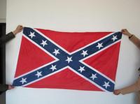 ingrosso fascia bandiera ribelle-90 * 150 cm bandiera ribelle confederata bandane do-stracci CivilStock guerra bandiera bandana fascia per adulto bandane poliestere nazionale SN1923