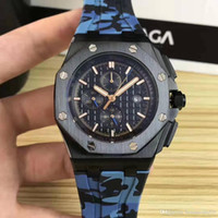 Wholesale precise watches for sale - Group buy AP29 Designer watches Luxury mens watches Movement watches royal oak precise movement mm fine steel case mineral resistant glass rubb