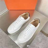 Wholesale vacation packages for sale - Group buy Mens casual small white shoes black tail low top lacing flat shoes travel vacation non slip light jogging shoes Original packaging