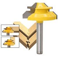 Wholesale bit arm resale online - Carpenter Lock Arm Router Degree Wide Wood Drill Bit