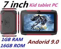 Wholesale kids tablets with wifi for sale - Group buy Newest kid Tablet PC Q98 Quad Core Inch HD screen Android AllWinner A50 real GB RAM GB Q8 with Bluetooth wifi dhl factory