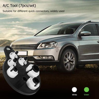 Wholesale car air conditioning kits for sale - Group buy Car A C Air Conditioning Duct Removal Fuel Line Disconnect Tools Refrigerant Tubing Tool Kit Air Conditioning Pipe Repair Tools