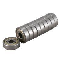 rodamientos rígidos de bolas al por mayor-10 unidades 6200Z 10 x 30 x 9 mm Rodamientos rígidos de una hilera de bolas sellados