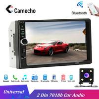 ingrosso hummer nuovo auto-Camecho Autoradio 2 Din modelli di auto comuni LCD da 7 '' Touch Screen per auto Radio Bluetooth Supporto audio Telecamera posteriore 7018B