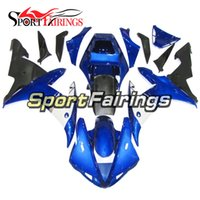 Wholesale black yamaha bike for sale - Group buy Blue White and Black Lower Fairings For Yamaha YZF1000 R1 Complete Plastic Pieces R1 Bike Bodywork Panels Full Bike Covers