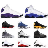 ingrosso scarpe gatti-Novità 13 He Got Game scarpe da basket da uomo Phantom black cat Chicago allevate Melo Class del 2003 Hyper Royal sports sneaker taglia 8-13