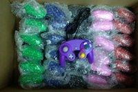 Wholesale game cube controllers resale online - TOP quality Wired Game Controller Gamepad Joystick for NGC NINTENDO GC Game Cube For Platinum factory price