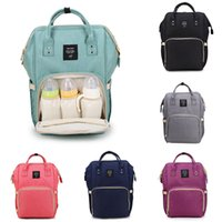 Wholesale thermal bags for baby for sale - Group buy 14 styles Mummy Maternity Nappy Bag Large Capacity Baby Bag Travel Backpack Desiger Nursing Bag for Baby Care Diaper Bags Storage