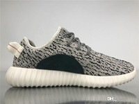 8d67591d9 2019 Authentic Boots 350S Kanye West Turtle Dove Blugra White AQ4832 Men  Running Shoes Oxford Tan Lgtsto Sneakers Sports With Original Box