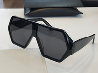 Wholesale sunglasses full face resale online - M56 Sunglasses Fashion Women Deisnger Popular Full Frame UV400 Lens Summer Style Big Square black Color Big Face Come With Case
