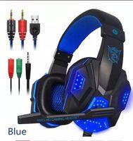 fones de ouvido bluetooth estéreo para laptop venda por atacado-VIP Ostart PC780 Gaming Headphones Com Fio Gamer Headset Som Estéreo Sobre a Orelha do Fone de ouvido com Microfone e Luz LED para PC Portátil PS4 hot