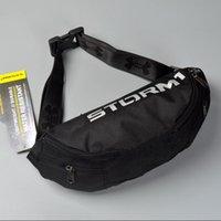мужская сумка черного цвета оптовых-Mens Women Fanny Pack Дизайнерская сумка через плечо Поясная сумка на одно плечо Сумки Сумки Унисекс Спортивные дорожные сумки с рюкзаком Черный B71306