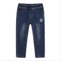 Wholesale baby boys fashion jeans for sale - Group buy 2019 NEW Spring Fashion Cartoon Boys Jeans Brand pants Baby casual Pants fashion Kids Jean Boy Trousers Autumn Children Denim T