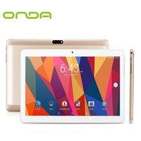 tela de onda venda por atacado-Onda V10 4G Smartphone 10,1 polegadas Tela IPS Android 5.1 / 7.0 MTK6753 1.3GHz Quad Core 1GB / 2GB 16GB / 32GB eMMC Câmeras duplas Tablet PC
