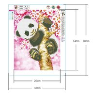 Wholesale decorative painting patterns for sale - Group buy Bedroom Living Room Decorative Diamond Painting DIY New D High Quality Part Stick Diamond Cute Panda Pattern Diamond Painting