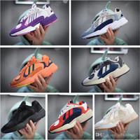 x z großhandel-2018 Dragon Ball Z x YUNG-1 OG GoKu Männer Frauen Laufschuhe Orange Laufschuhe Sportschuhe Kanye 700 West Mit Original Box