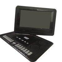 tv kartı okuyucu toptan satış-13.9in Taşınabilir DVD Oynatıcı HD CD TV Player LCD Geniş Ekran Kart Okuyucu M8617 GPS
