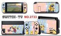 Wholesale minions for online – custom Vinyl Screen Skin Minion s Protector Stickers for Nintendo Switch NS Console Controller Stand Holder Skins