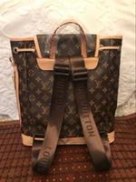 mode rucksäcke leicht großhandel-2019 Frühjahr neue koreanische Mode Umhängetasche Handtaschen leichte Multifunktionsreise große Kapazität beiläufige Doppelrucksack Bericht