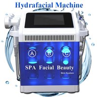 Wholesale microdermabrasion in1 resale online - portable in1 hydrafacial water peeling machine Hydro microdermabrasion ultrasonic skin care rejuvenation equipmnent BIO RF lifting