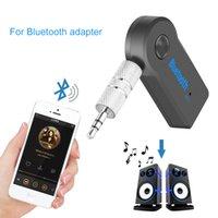 boîte à musique mp3 bluetooth achat en gros de-Adaptateur universel 3,5 mm Kit de voiture Bluetooth A2DP sans fil AUX audio Récepteur audio mains libres avec micro pour téléphone MP3 Retail Box