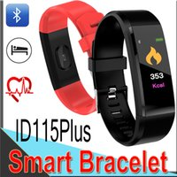 Wholesale ID115 Plus Smart Bracelet Color LCD Screen fitness tracker Watch Band Blood Pressure Monitor Smart Wristband factory outlet XCTI115P