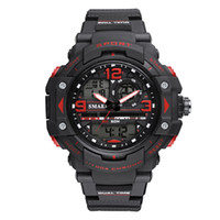 ingrosso orologio militare-Mens Digital Watches LED Men Watch Big Dial Alarm Clock Men Sport Watches Waterproof1379B Men Military Watches Army