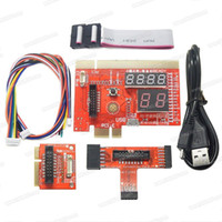 Wholesale new laptop motherboards for sale - Group buy Freeshipping NEW in PCI PCIE LPC MiniPCI E Analyzer Motherboard Diagnostic Tester Diagnostic Analyzer for PC Laptop and Desktop