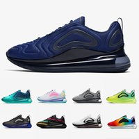 flash sporlar toptan satış-Nike Air max 720 shoes  Siyah Benek Gurur Ruhu Teal Erkekler kadınlar Koşu Ayakkabıları Spor Kırmızı Obsidian Paskalya Paketi Toplam Turuncu Erkek Spor Sneakers
