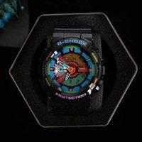 capitán de relojes al por mayor-CASIO G-SHOCK MARVEL limitado mens relojes de edición hombre de goma tira de hierro y de diseño reloj relojes impermeables a prueba de golpes Capitán América