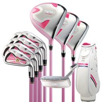 juegos completos de golf al por mayor-Nuevos Clubes de golf para mujer HONMA U100 Juego completo de palos Golf hierros de madera Putter Juego de golf Clubs Graphite shaft ang HeadCover Envío gratis