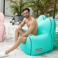 Wholesale bedding free shipping for sale - Group buy New multi color style lazy inflatable sofa lazy sleeping bag inflatable bed outdoor beach indoor portable air sofa