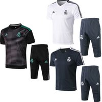 Wholesale wicking t shirts men best for sale – custom Best sale new season Real Madrid jacket Bell short sleeves T shirt tracksuits soccer jersey Isco benzema training shirt